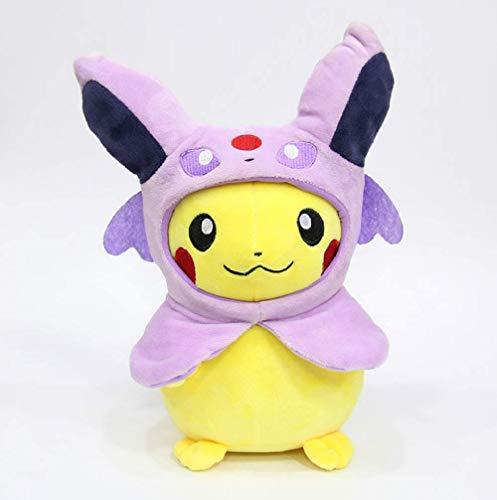 XINRUIBO Pokemon Plüschspielzeug Soft Filling Cartoons Anime Pikachu Embracable Pillow Die Beste Geburtstags-Geschenke for Kinder 30Cm Pikachu Kuscheltier