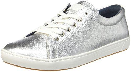 BIRKENSTOCK Shoes Arran Gr. 36-42 Silver Naturleder 1007042, Größe + Weite:41 schmal