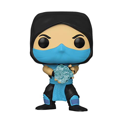 Funko Pop! Games: Mortal Kombat - Sub - Zero, Multicolor