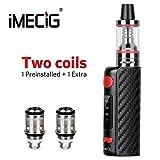 Vape, Vape Starter Kit B1 Vape Pen E Cigarettes 20W-80W, 0.35ohm Coil, 2ml