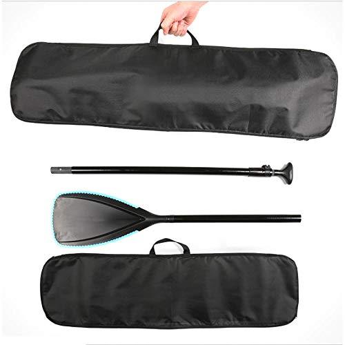 ADLOASHLOU Sup Paddle Bolsa de Soporte Ajustable hasta Paletas del kajak 37.7'x10.6 Bolsa de Asas para Kayak kajak de la Paleta de Split Paddle Paddle Bolsa de Fibra Bolsa
