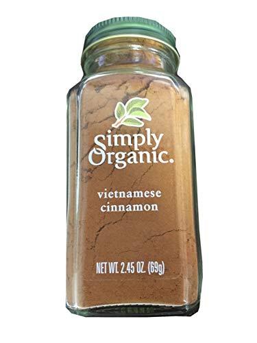 Simply Organic Cinnamon Ground オーガニックシナモンパウダーオーガニック認定 69g [並行輸入品]