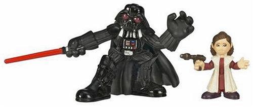 Hasbro 87221 Star Wars Galactic Heroes Mini-Figure 2 Pack - Princess Leia & Darth Vader