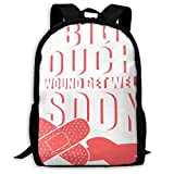 Lawenp Big OUCH Wound Get Well Soon Sport Style Mochila Unisex para Adultos Get Well Soon Wishes, Get Well Prayer