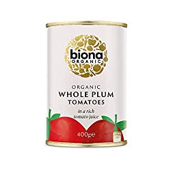 Made from tomatoes come from selected farms Grown according to certified organic methods No chemical fertilisers or pesticides used No added cane or beet sugar BPA-FREE packaging