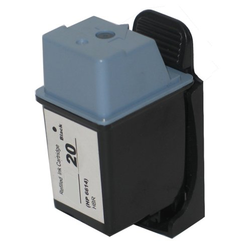 1 cartucho de tinta para HP Deskjet 610c Deskjet 3920V Fax 1020 PSC 1300 sustituye a HP20 C6614DE