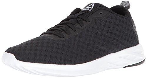 Reebok Damen Astroride Soul Sneaker, schwarz/weiß, 37 EU