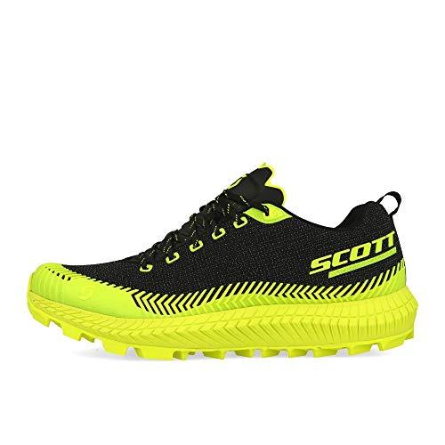Scott M Supertrac Ultra RC Shoe Gelb-Schwarz, Herren Laufschuh, Größe EU 44 - Farbe Black - Yellow