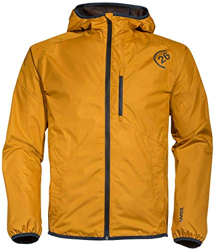 Uvex Kollektion 26 Herren-Outdoor-Jacke - Orange Männer-Regenjacke XXL
