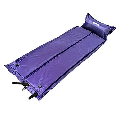 HOUMEL Aufblasbare Schlafmatten Camping Faltbare Splicing automatische aufblasbare Matten-Camping Rollenmatratze for Außen Backpacking Wandern Zelt (Size : 180 * 59 * 3cm)