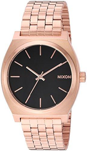 NIXON Reloj Analógico para Hombres de Cuarzo japonés con Correa en Acero Inoxidable A0452598-00
