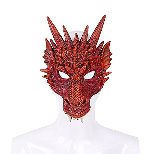XIANGE100-SHOP Máscara De Halloween Dance Carnival Party Put PU Foam 3D Animal Tiger...