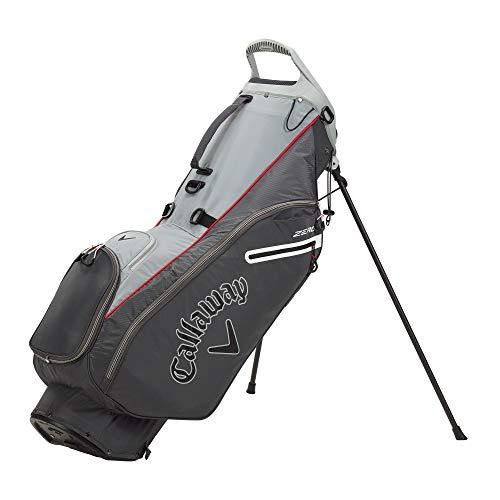Callaway Golf 2021 Hyperlite Zero Stand Bag , CHARCOAL/SILVER/WHITE
