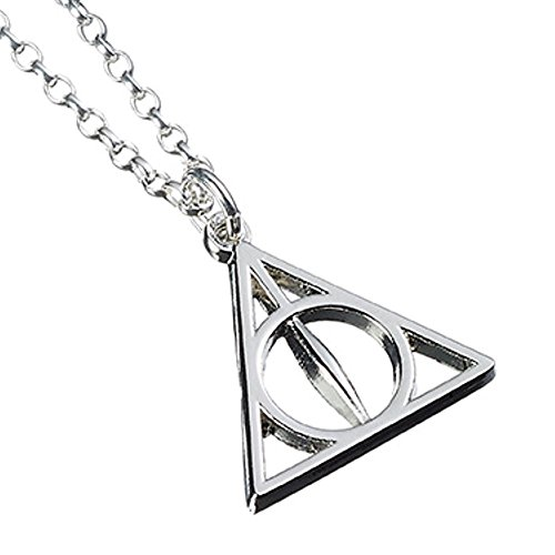 Harry Potter Deathly Hallows Halskette 40-47cm Sterling Silber
