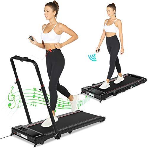 2-in-1 Treadmill,Under Desk Folding Treadmills for Home,...