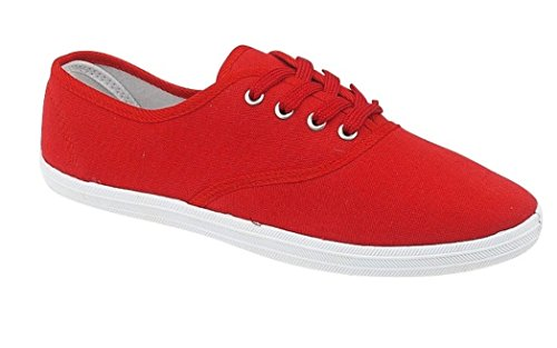 LD Outlet, Ballerine Bambine, Rosso (Rosso), 9 Child UK