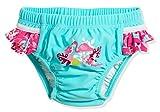 Playshoes Baby-Mädchen UV-Schutz Windelhose Flamingo Schwimmwindel, Türkis (Türkis 15), 74 (Herstellergröße: 74/80)
