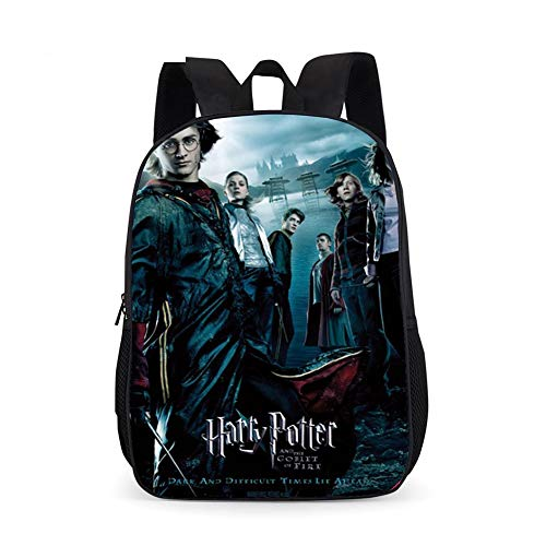 UNILIFE Mochila Infantil Bolsas Harry Potter Mochilas Escolares Resistentes Al Agua para Niñas Niños Escuela Secundaria 22L