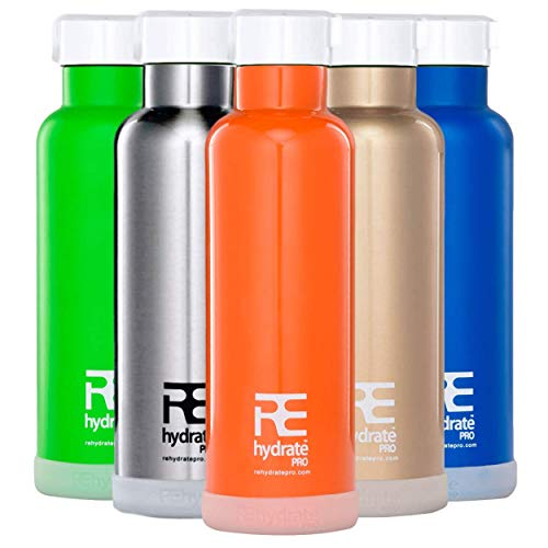 Rehydrate Pro Black 25oz Double-Insulated...