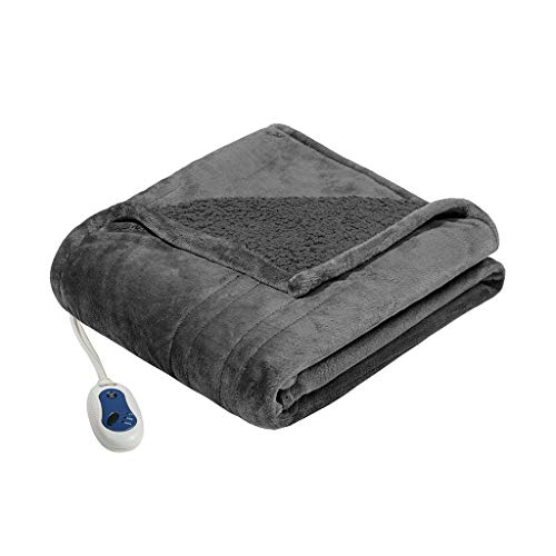 Beautyrest Heated Microlight to Berber Electric Blanket -$26.93(70% Off)