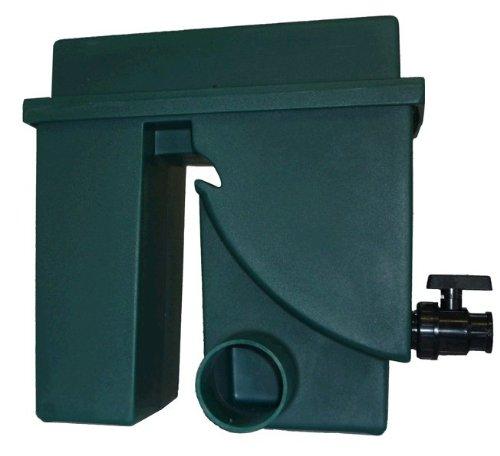 Spaltsiebfilter Bogensiebfilter Teichfilter grün Spaltsieb/Bogensieb 150µ mit Schmutzauslass