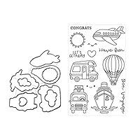 WjingjingJ Balloon Metal Cutting Dies Stencil for DIY Scrapbooking Paper Card Embossing 手作りのカビ