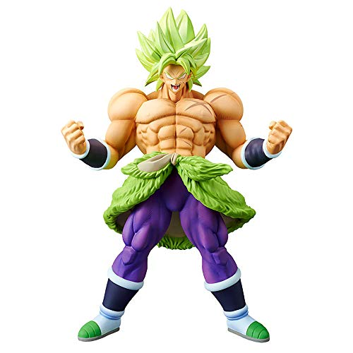 Banpresto movie Dragon Ball super Chokoku-Buyuden -SS Broly full power Figure