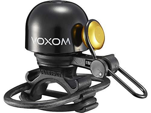Voxom Fahrradklingel Kl20 Klingeln & Hupen, Messing, Durchmesser 30 mm