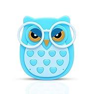 ETCBUYS NA Plug-in Animal Owl Nightlight LED Auto Control Sensor Lighting Baby Kids Nursing Room Wall Light (Blue)