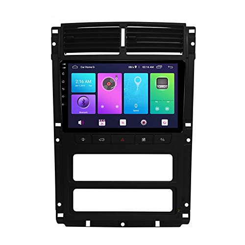 LINNJ Navegación de Coche Android Car Stereo Sat Nav para Peugeot 405 Unidad Principal Sistema de navegación GPS SWC 4G WiFi BT Enlace de Espejo USB Carplay Incorporado