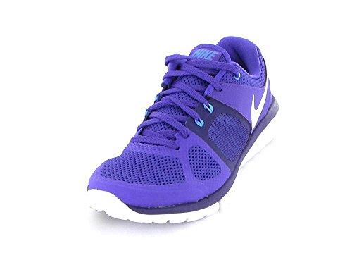 Nike flex 2014 RN, Sneaker donna, Viola (Violett (weiß-pink-violett)), 9,5