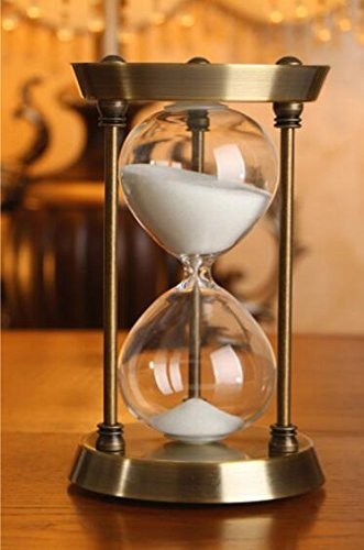 30 Minuten Metall Sand Timer Sanduhr Sanduhren Promition X 'mas Geschenk Dekorationen
