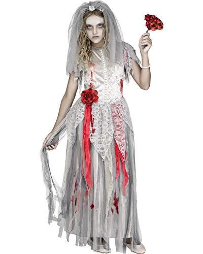 Fun World Zombie Bride Girls Costume Medium