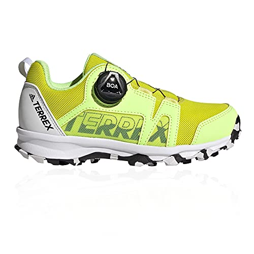 adidas Terrex Agravic Boa K, Zapatillas de Trail Running Unisex Adulto, ROSCHI/NEGBÁS/FTWBLA, 39 1/3 EU