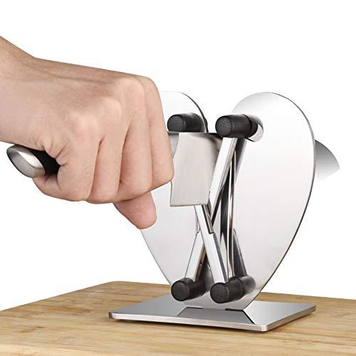 Uarter Messerschärfer Küche Manuelle Messerschärfer, Messer Hones & Polishes Gezahnte, abgeschrägte und Standardklingen, Spezielle Küchengeräte