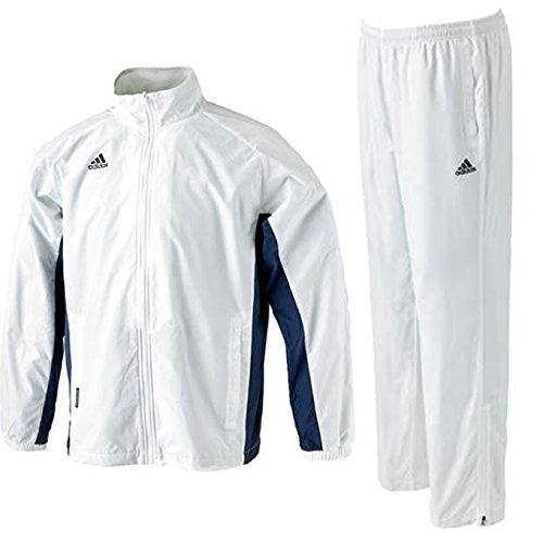 adidas(アディダス) BC ウィンドブレーカー 上下セット 【メンズ】 (BPB63/BPB64) (L, ホワイト(AP6933/37))