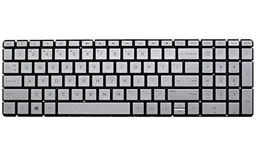Teclado avanzado de repuesto para computadora portátil, teclado no retroiluminado para HP Pavilion 15-cs0012ns 15-cs0013na 15-cs0013ns 15-cs0014nc 15-cs0014np 15-cs0015nc 15-cs0016na 15-cs0016nf, dise