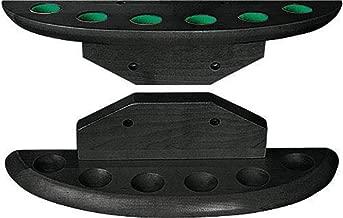 AYNEFY Cue Rack,Queuest/änder Billard Billardqueue Halter St/änder Rack Billard Rack f/ür 8 Pool Queues mit Aschenbecher,55 x 36 x 36cm