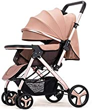 HunyHuny Stylish Baby Stroller Pram with Multi Function - Khaki