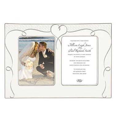 Lenox True Love Double Invitation Frame, 10-Inch