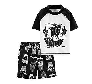 Carter's Boys' Toddler Rashguard Swim Set, Vacay Mode, 3T (B07GSSMD79)   Amazon price tracker / tracking, Amazon price history charts, Amazon price watches, Amazon price drop alerts