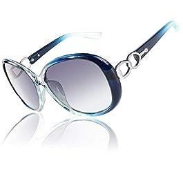 CGID Designer Oversized Sunglasses for Women Polarised UV400 Protection M185