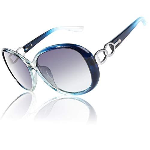 CGID Occhiali da Sole da Donna Polarizzati Grande Retrò Designer Protezione UV400 Occhiale donna da...