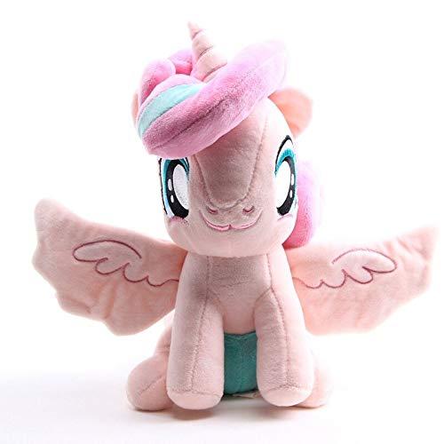 Olalalife Stuffed Animal Plush Toy My Little Pony Stuffed Toy Doll - Queen Chrysalis 33cm Soft Unicorn Anime Toy Birthday Gift- Flurry Heart