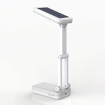 Led Lámpara De Mesa Solar Usb Carga Plegable Dimmer Cama Lámpara ...