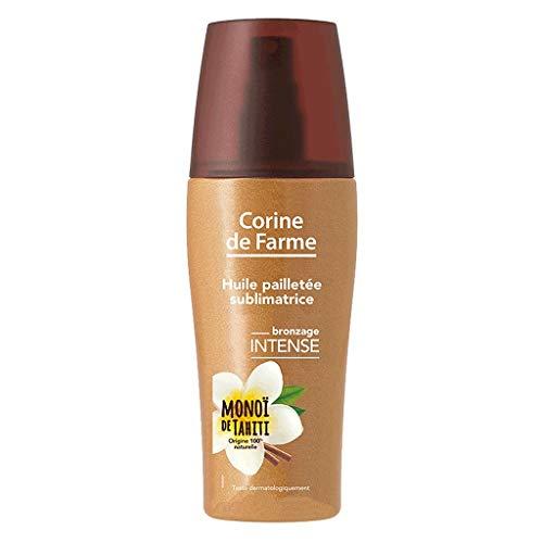 Corine de Farme Pack Corine De Farme Oil Glitter © E sublimatrice Tanning Intensive Monoã Von Tahiti 150ml (2er Pack) 1