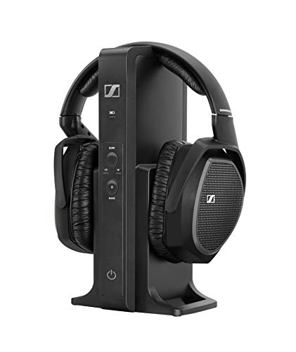 Sennheiser RS 175-U, Cuffia Wireless Tecnologia Digitale, Over-Ear, Nero