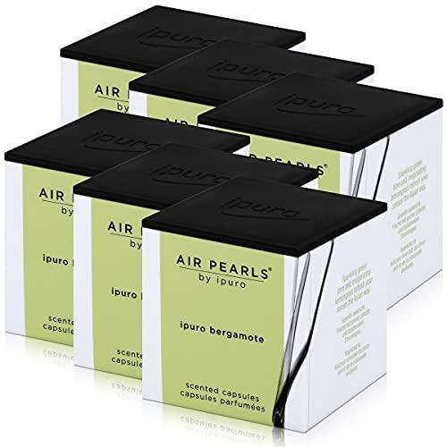 Air Pearls by ipuro - Cápsulas aromáticas de bergamote (2 x 5,75 g)