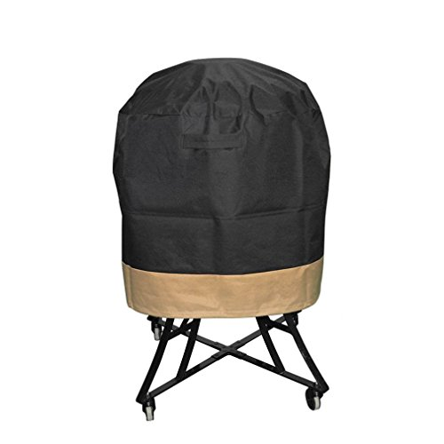 Onlyfire Kamado Grill Cover Fits for Big Green Egg,Kamado Joe Classic and Stand-Alone,Large Grill Dome,Pit Boss K22,Louisiana K22,Coyote the Asado Cooker and other,76cm DIA X 61cm H