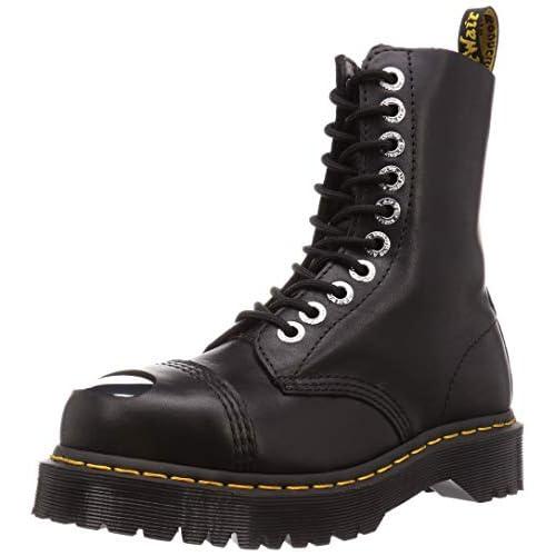 8761 Bxb Toe cap Stivali in Pelle Unisex Black Luxor, 36 EU